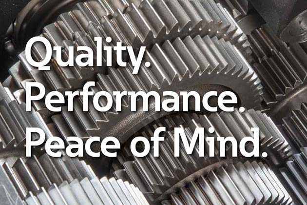 Quality | Performance | Pease of Mind
